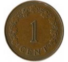 Мальта 1 цент 1972-1982