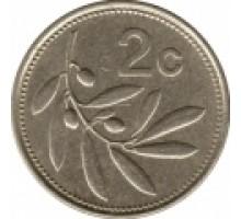 Мальта 2 цента 1986
