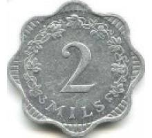 Мальта 2 миля 1972-2007