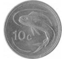 Мальта 10 центов 1991-2007