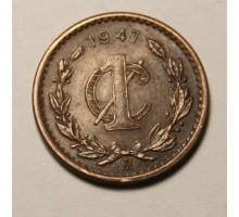 Мексика 1 сентаво 1947