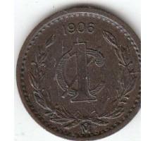 Мексика 1 сентаво 1906