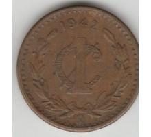 Мексика 1 сентаво 1942