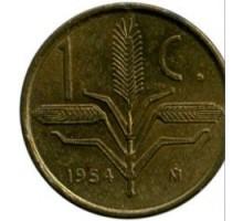 Мексика 1 сентаво 1954