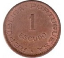 Мозамбик 1 эскудо 1953-1974