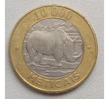 Мозамбик 10000 метикалов 2003
