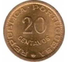 Португальский Мозамбик 20 сентаво 1973-1974