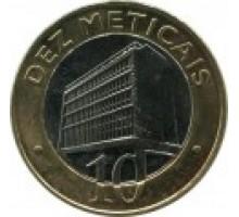 Мозамбик 10 метикалов 2006-2012