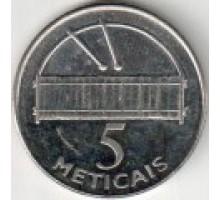 Мозамбик 5 метикалов 2006