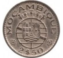 Мозамбик 2,5 эскудо 1952-1973