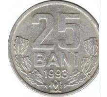 Молдова 25 бань 1993-2020