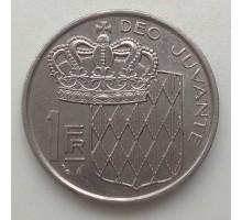 Монако 1 франк 1960-1995