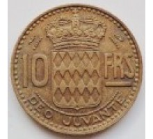 Монако 10 франков 1950-1951
