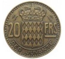 Монако 20 франков 1950-1951