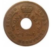 Нигерия 1 пенни 1959