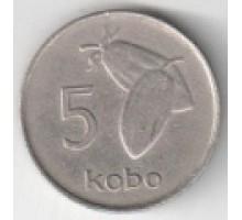 Нигерия 5 кобо 1973-1986