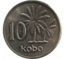 Нигерия 10 кобо 1973 - 1976