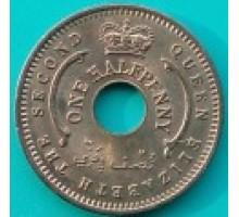 Нигерия 1/2 пенни 1959