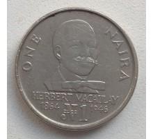 Нигерия 1 найра 1991-1993