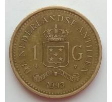 Нидерландские Антильские острова 1 гульден 1989-2013