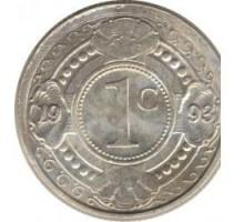 Нидерландские Антильские острова 1 цент 1989-2016