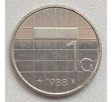 Нидерланды 1 гульден 1982-2001