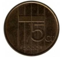 Нидерланды 5 центов 1982 - 2001