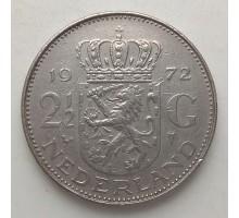 Нидерланды 2 1/2 гульдена 1969-1980