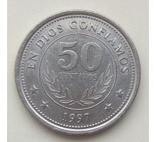 Никарагуа 50 сентаво 1997