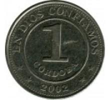 Никарагуа 1 кордоба 2002-2014