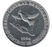 Никарагуа 10 сентаво 1994