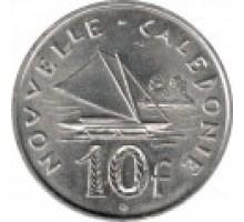 Новая Каледония 10 франков 2006-2017
