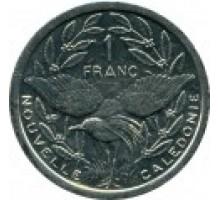 Новая Каледония 1 франк 1972-2017