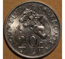 Новая Каледония 20 франков 1972-2005