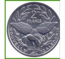 Новая Каледония 2 франка 1973-2015
