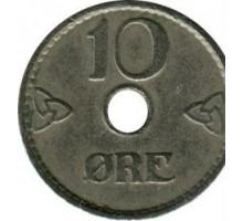 Норвегия 10 эре 1941