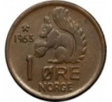 Норвегия 1 эре 1958-1972
