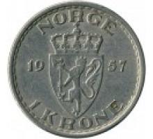 Норвегия 1 крона 1951-1957