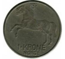Норвегия 1 крона 1958 - 1973