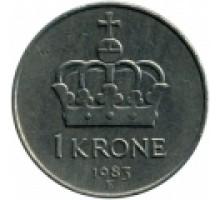 Норвегия 1 крона 1974-1991