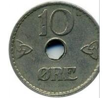 Норвегия 10 эре 1924