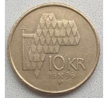 Норвегия 10 крон 1995-2012
