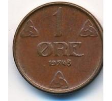 Норвегия 1 эре 1948