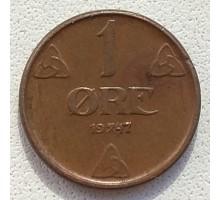 Норвегия 1 эре 1947
