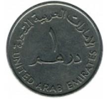 Объединенные Арабские Эмираты 1 дирхам 1973-1989