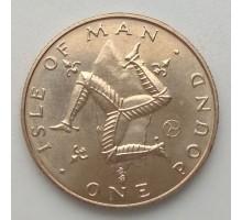 Остров Мэн 1 фунт 1978-1982