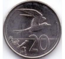 Острова Кука 20 центов 2015