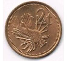 Папуа-Новая Гвинея 2 тойя 1975-2004
