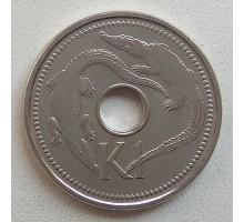 Папуа-Новая Гвинея 1 кина 2005-2010