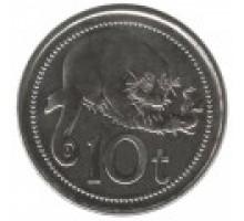 Папуа - Новая Гвинея 10 тойя 2002-2014
